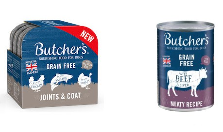 Butchers dog foods