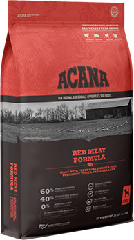 Acana red meat for puppies