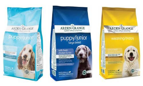 Arden Grange Puppy Food Range