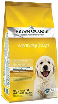 Arden Grange Weaning puppy food