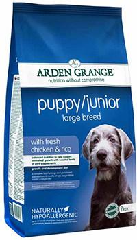 Arden Grange large breed puppy food