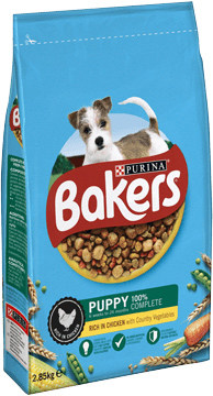 Bakers puppy food small