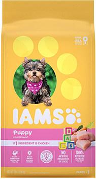 Iams small breed puppy food