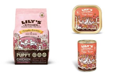 Lily's Kitchen Puppy food range