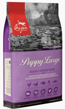 Orijen Puppy Food for large breeds