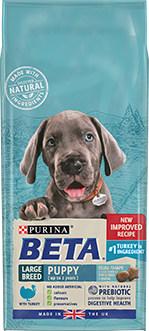 Purina beta large breed puppy food