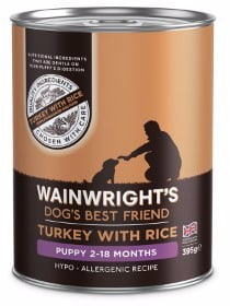 Wainwright's wet puppy food