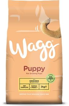wagg puppy food chicken