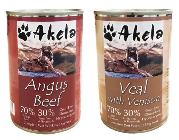 Akela Dog Food variants