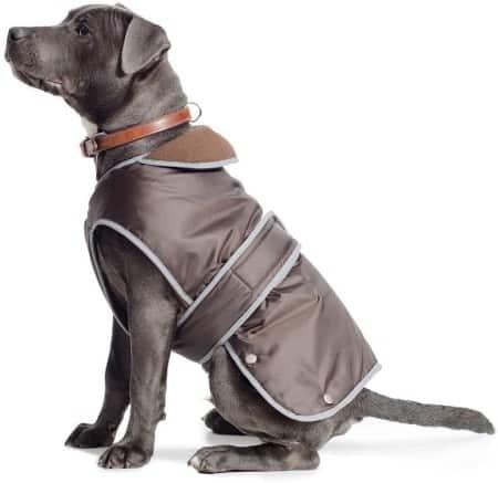Ancol Muddy Paws Stormguard Dog Coat Chocolate size Large