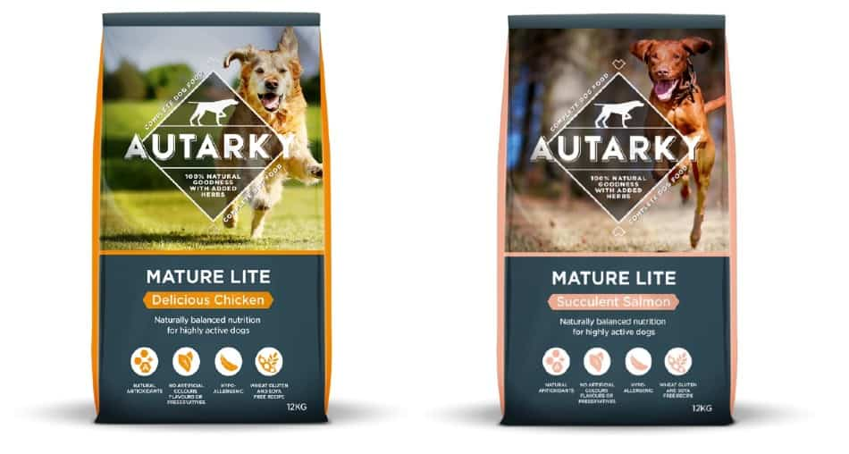 Autarky Dog Food Mature Lite products