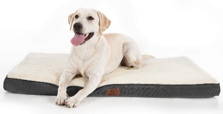 Bedsure Orthopedic Egg-Crate Foam Dog Bed