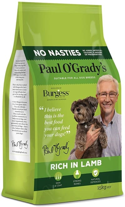 Burgess Dog Food Paul O Grady variant