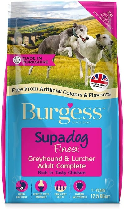 Burgess Dog Food Supadog variant