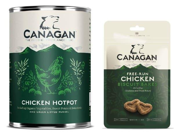 Canagan Dog Food variants