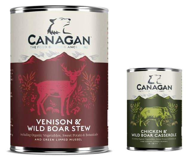 Canagan Dog Food canned variants