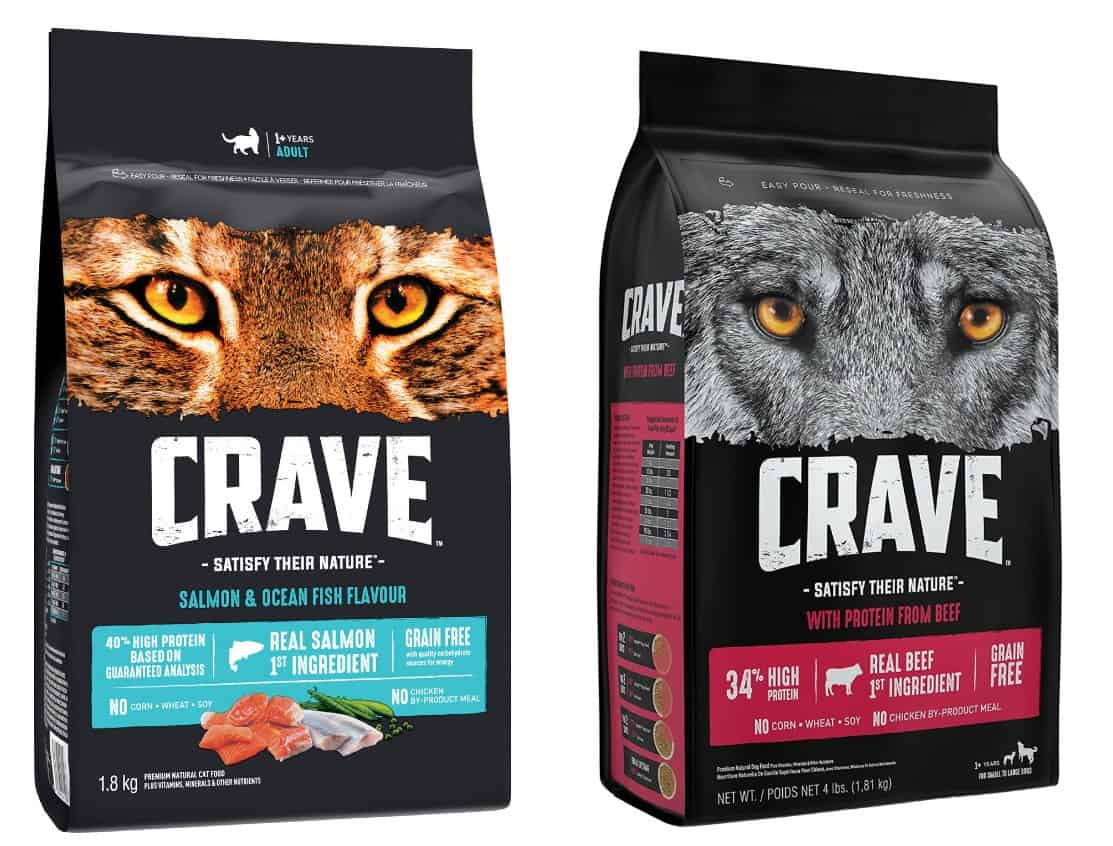 Crave Dog Food products