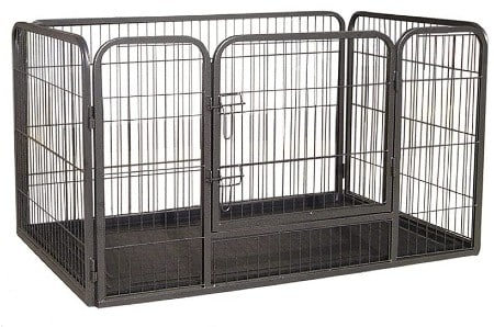 Doggy Style Heavy Duty Whelping With Abs Tray Puppy Play Pen, X-Large