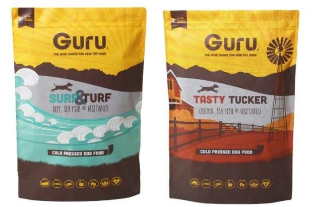 Guru Dog Food variants
