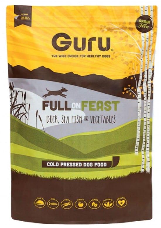 Guru Dog Food in pack
