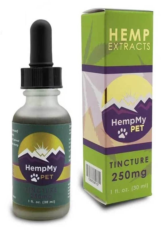 CBD Oil HempMy Pet brand