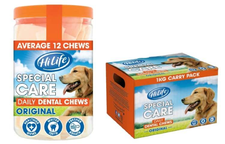 Hi Life Dog Food Dental Chews variants