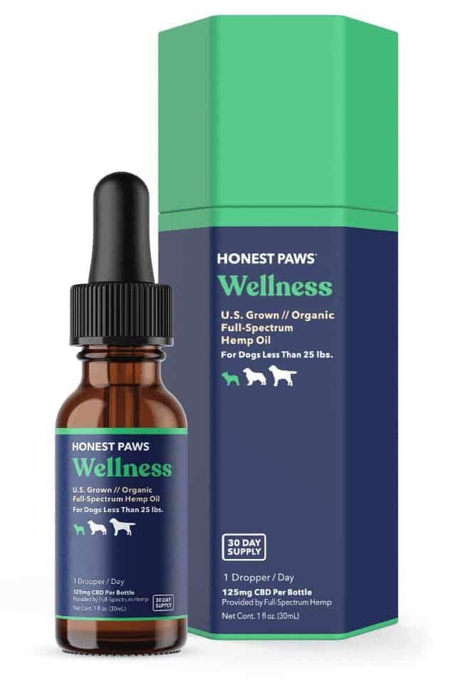 CBD Oil Honest Paws brand