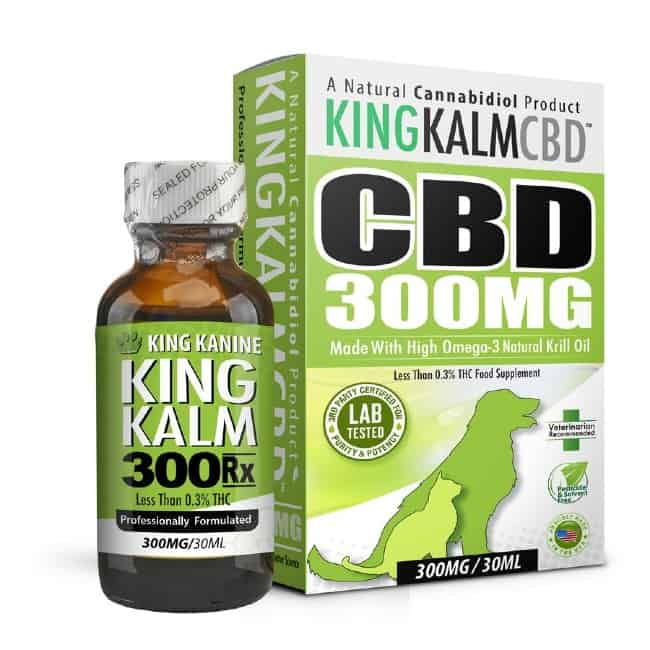 CBD product King Kanine brand
