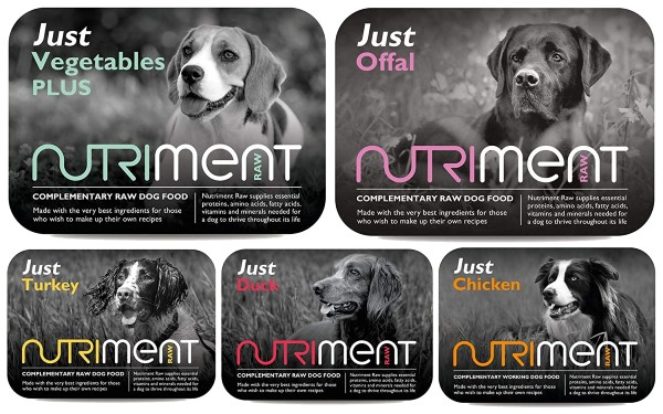 Nutriment Dog Food variants