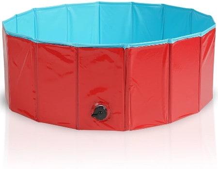 Premium Foldable Pet Dogs Swimming Paddling Pool