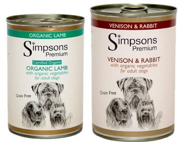 Simpsons Dog Food variants