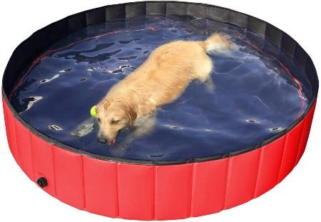 Yaheetech Foldable Pet Dogs Swimming Pool
