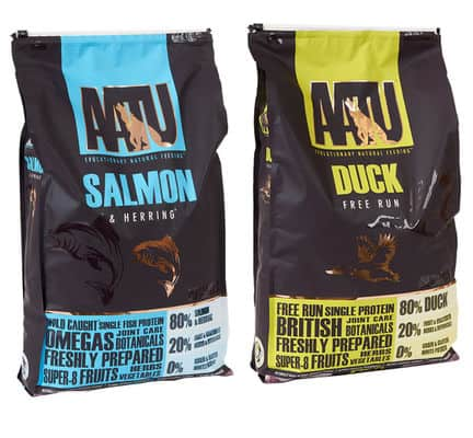 AATU dog food variants