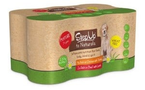 Step Up To Naturals Mature Dog Food Variety Pack variant