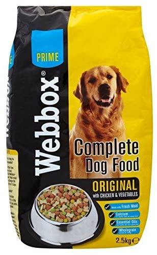 Webbox Chicken & Veg Complete Dry Dog Food variant