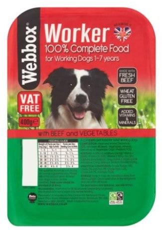 Webbox Working Dog Beef