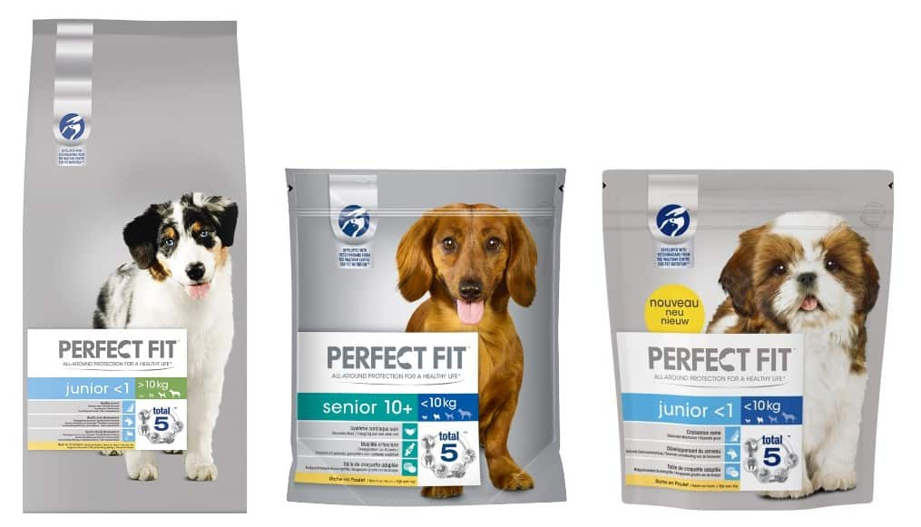 perfect fit dog food variants