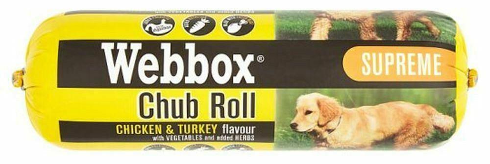 webbox dog food chicken and turkey flavo
