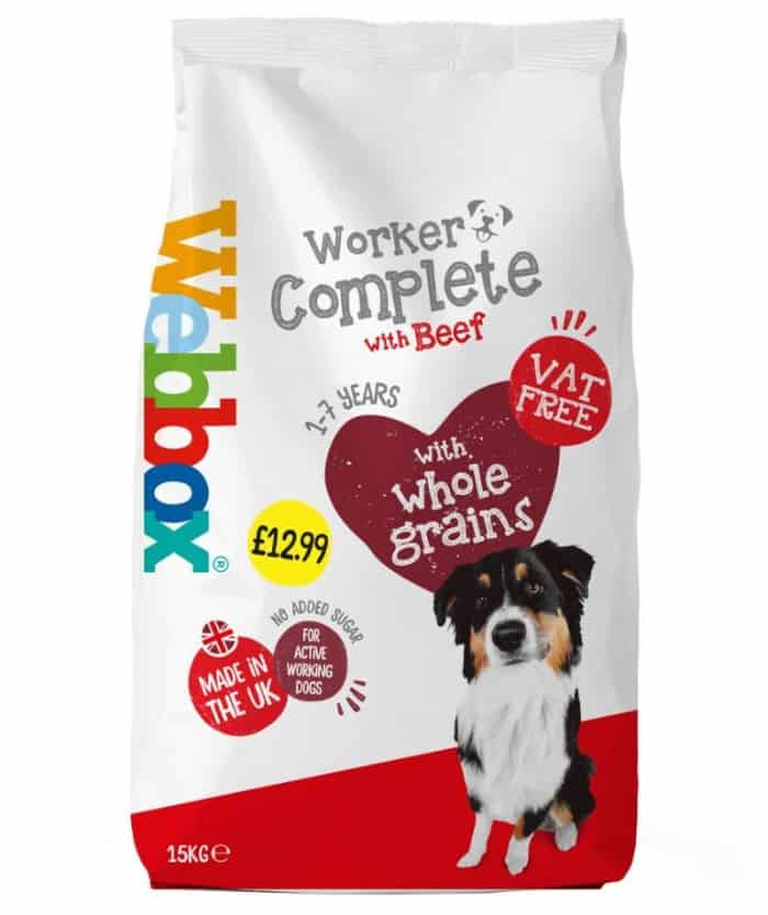 webbox dog food pack