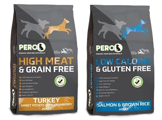 Pero Dog Food variants