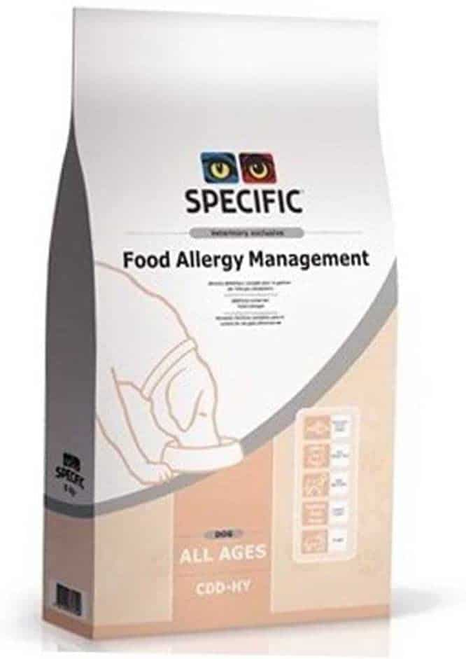 Specific CDD HY Food Allergy Dry Dog Food
