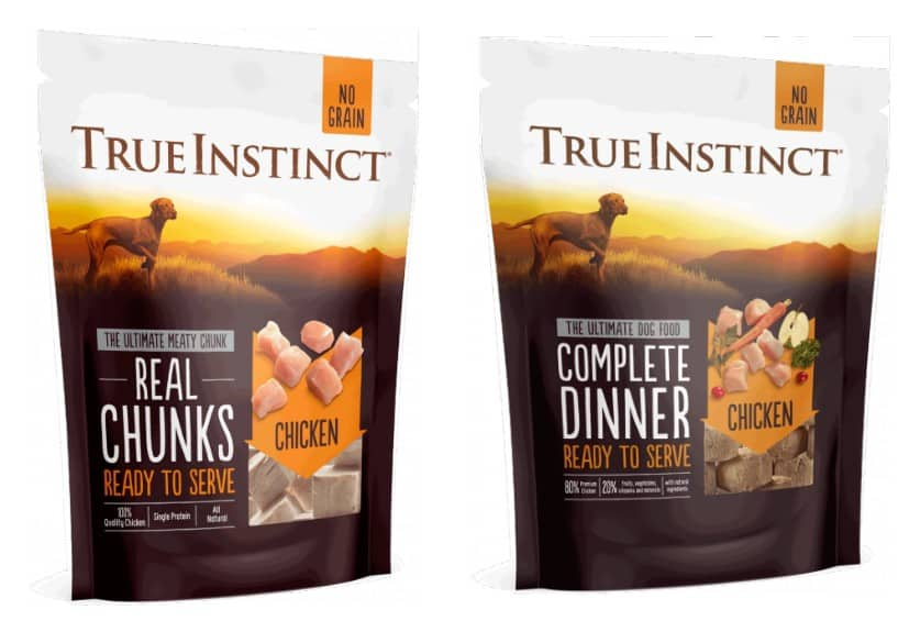 True Instinct Dog Food Freeze Dried Meat variants