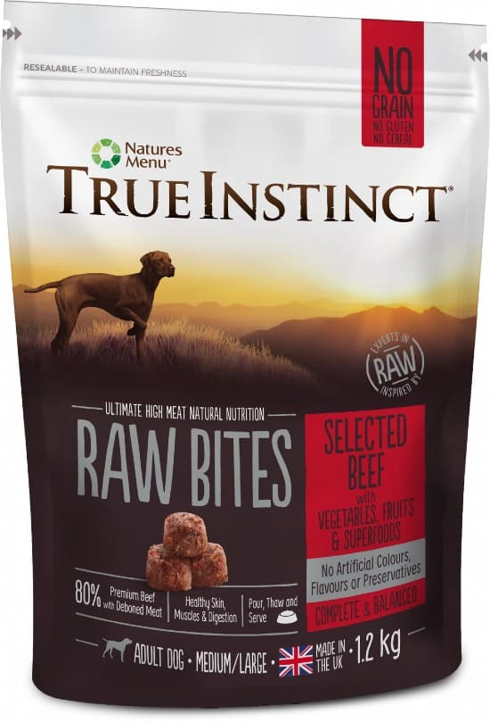 True Instinct Dog Food Selected Beef variant