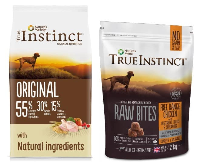 True Instinct Dog Food variants