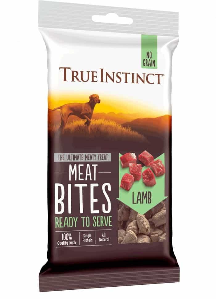 True Instinct Dog food Dried meat bites variant