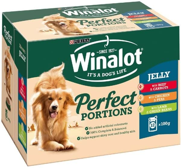Winalot Perfect Portions Meat in Jelly Dog Food