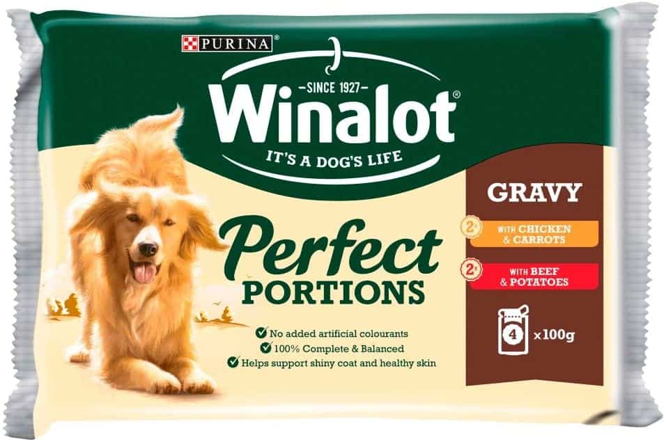 Winalot Perfect Portions Selection Meat in Gravy Adult Dog Food