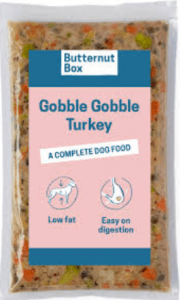 butternut box dog food turkey