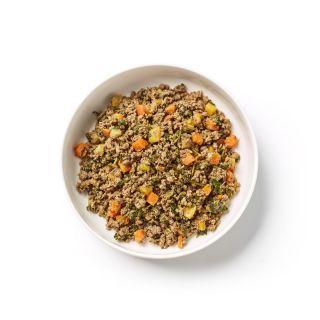 braised beef dog food